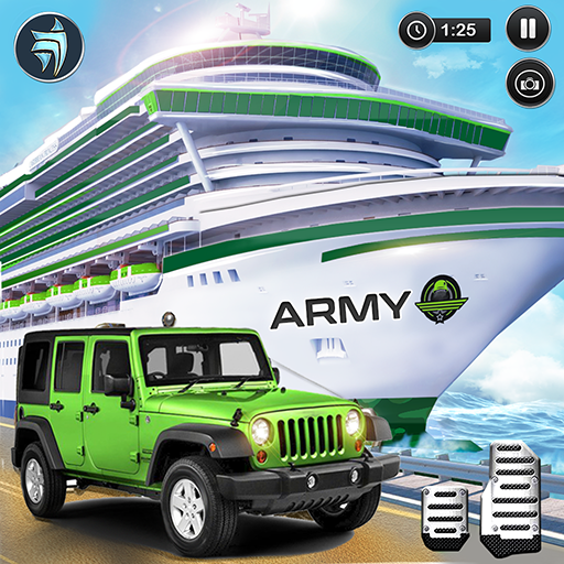 US Army Transporter Cruise Ship Driving Game file APK Free for PC, smart TV Download