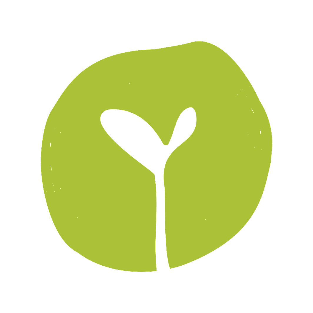 The Raw Chef green leaf logo