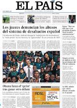 Photo: Los jueces denuncian los abusos del sistema de desahucios español, ningún servicio de análisis se cree las previsiones del PIB del Gobierno y la BBC admite que toleró abusos sexuales en el pasado, en nuestra portada del miércoles 24 de octubre http://srv00.epimg.net/pdf/elpais/1aPagina/2012/10/ep-20121024.pdf