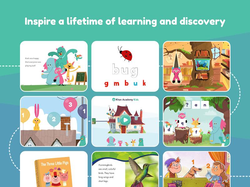 Khan Academy Kids: Free educational games & books Screenshot 12