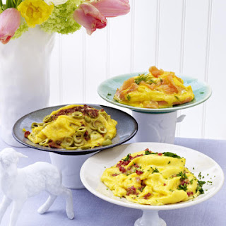 Scrambled Eggs Three-Ways