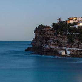 Calm Seas by Daniel Wheeler - Landscapes Waterscapes ( sydney, cliffs, ocean, beach )