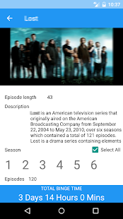 Television Binge Calculator- screenshot thumbnail