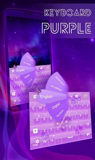 紫色的鍵盤女孩主題