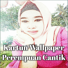 Wallpaper Kartun Perempuan Cantik Berjilbab On Windows Pc Download Free 1 0 0 Com Wallpaperkartunperempuancantikberjilbab Farisstudio