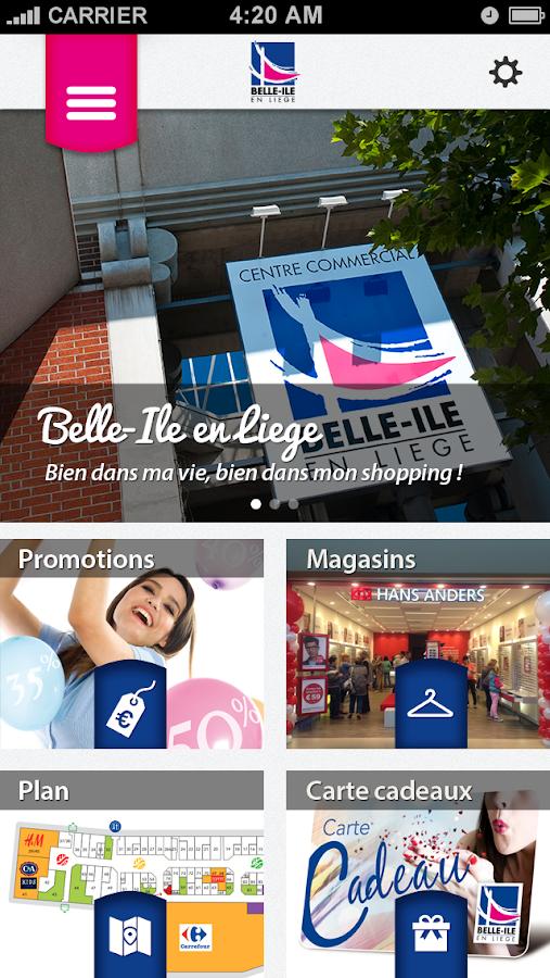 Belle-Île en Liège - screenshot