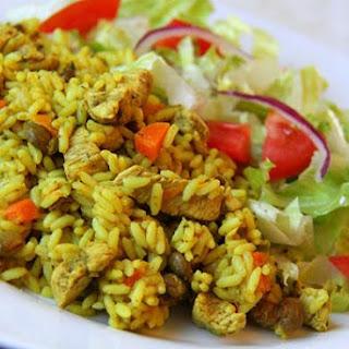 Curry Chicken Pelau.