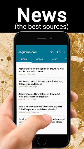 Football News from Jacksonville Jaguars 1.1.5 screenshots 1