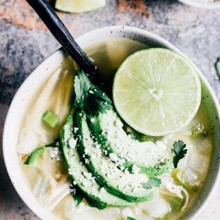 Lime Jalapeño Chicken Soup