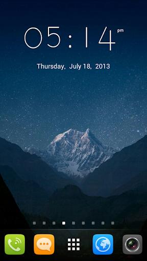 GO Launcher EX UI5.0 theme screenshot 1