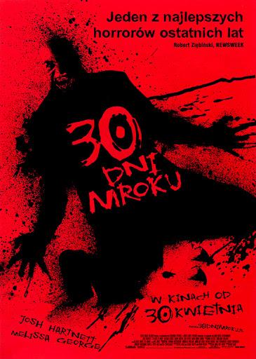 Przód ulotki filmu '30 Dni Mroku'