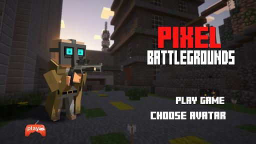 Code Triche BattleGrounds Pixel APK MOD (Astuce) screenshots 1