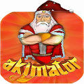 Akimator the Genie -Santa icon