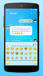Emoji Keyboard for Doraemon Screenshot