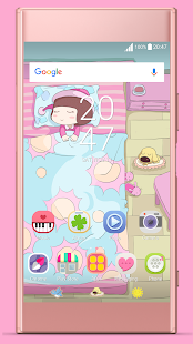 Good Night Pinky ND Xperia Theme - náhled