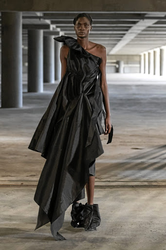 Amanda Laird Cherry's latest collection makes a strong statement about systemic racism through the use of colour.