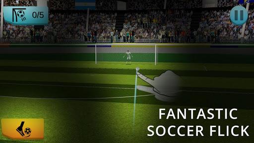 Ultimate Soccer hero Flick Shoot 2018 League 1.0.1 screenshots 2