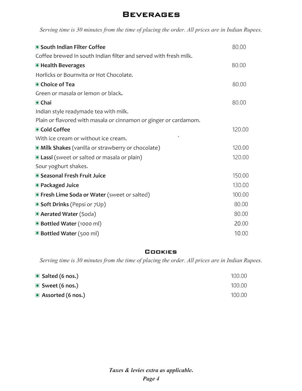 Cafe @ Elanza menu 15