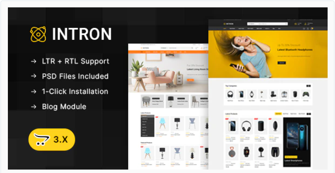 best selling Watch store opencart theme