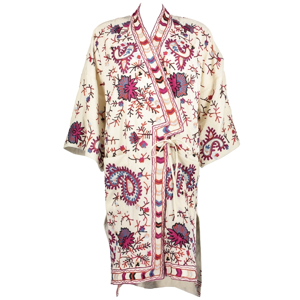 FRENCH CONNECTION Dorothy Embroidered Kimono Jacket