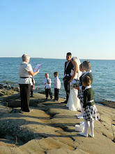 Photo: Bluff wedding