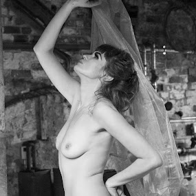 Sohalia by Helen Quirke  - Nudes & Boudoir Artistic Nude ( attic, fine art, black and white )