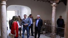 Visita a las obras del Palacio.