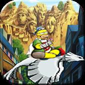 adventure naruto time:simpson