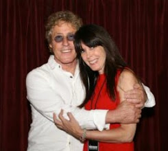 Photo: The Who's Roger Daltrey and Julie Spira