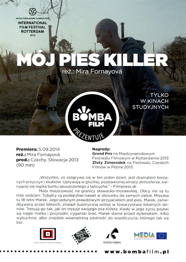 Przód ulotki filmu 'Mój Pies Killer'