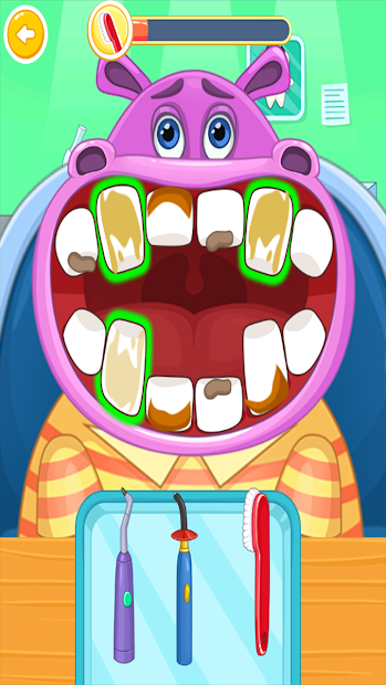 Children's doctor : dentist. Android App Screenshot