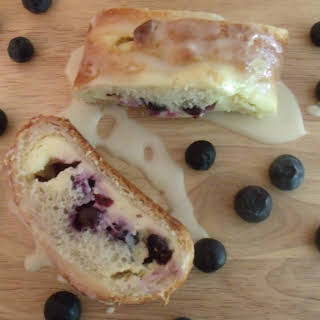 Blueberry Cream Cheese Loaf.