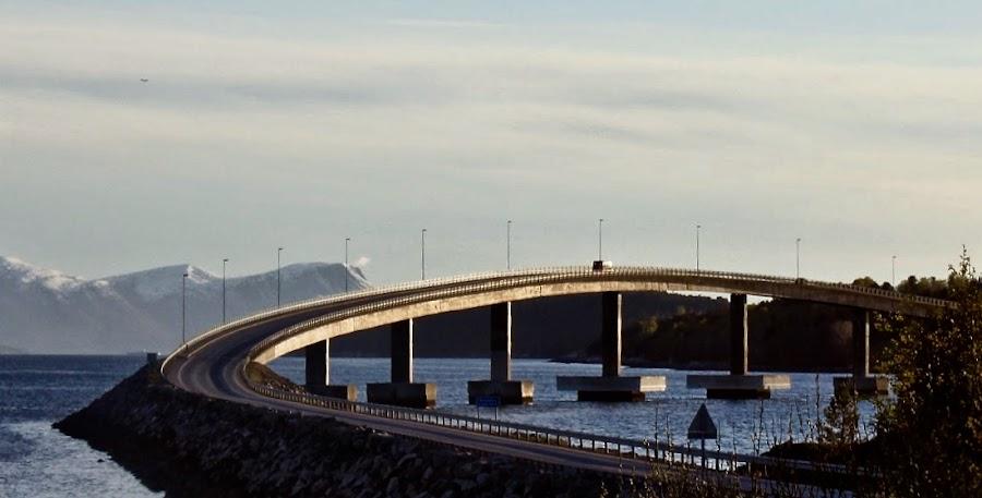 The bridge by Cecilie Hansteensen - Buildings & Architecture Bridges & Suspended Structures ( water, architecture, bridge, norway, molde,  )