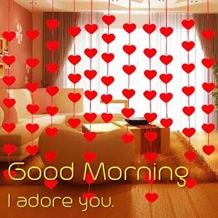 Dobré ráno láska obraz - náhled