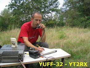 Photo: 21.08.2010. Dušan, YT2RX