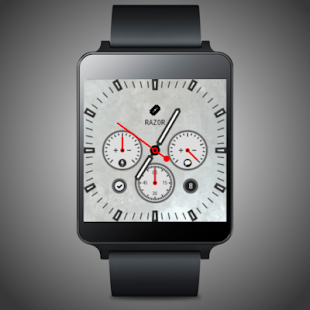 razorWFB Wear Watch Face- screenshot thumbnail