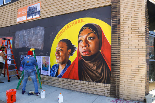 Street Art Project Raises Bail Money to Free Black Mothers by Mother's Day