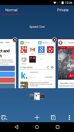 Opera Mini beta web browser 11.0.1912.94373 screenshot 6960