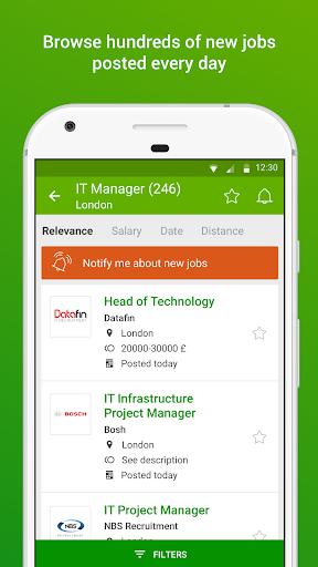 Totaljobs - UK Job Search app screenshot 2