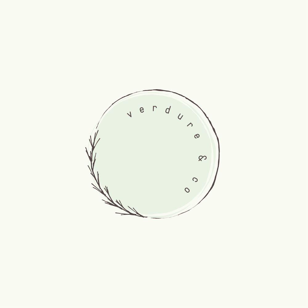 Verdure & Co. - Logo Template