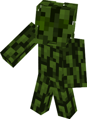 Minecraft Skin Wallpaper Girl Leaf Camo Nova Skin