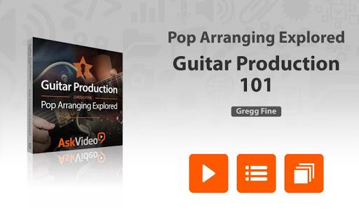Pop Guitar Arrangement Course