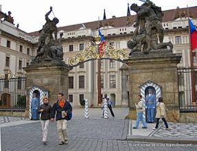Photo: Prague Castle Gate