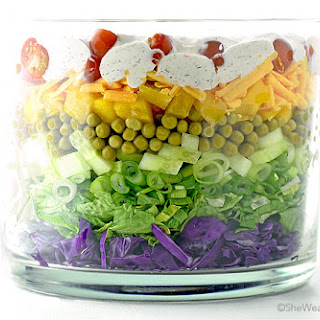 Easy Layered Salad