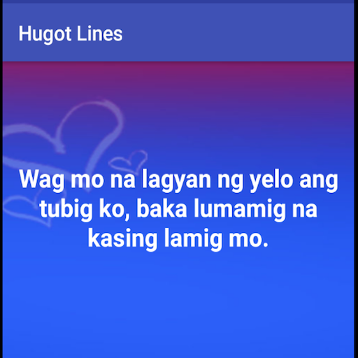 Hugot Lines - Apps on Google Play
