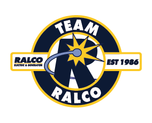 a logo for RALCO electric