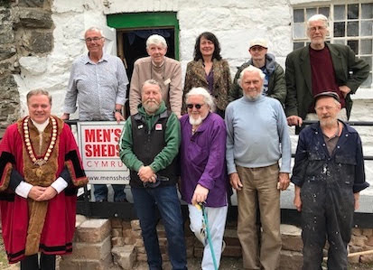 Area's first 'Men's Shed' opens