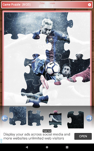 Lionel Messi Game Puzzle android2mod screenshots 16