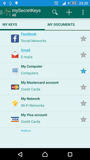 mySecretKeys Password Manager