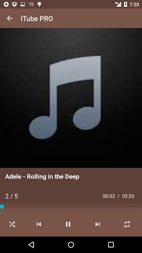 iTube MP3 Player Music screenshot 1